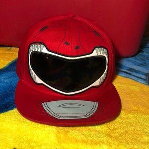 Power Rangers Samurai Red Ranger Exclusive Hat
